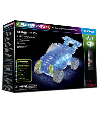 Laser Pegs 4 in 1 Super Truck