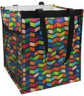 Two Lumps of Sugar Trunkey Buddy Trunk Tote-Geometric Prism