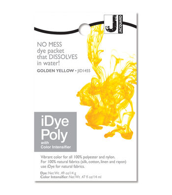 Jacquard iDye Fabric Dye - Natural, Poly and Nylon Fabrics