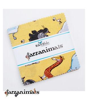 Pre-Cut Fabric-Tarzanimals by Riley Blake