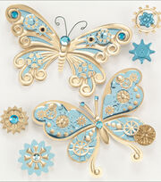 Jolee's Steampunk Sticker-Butterflies, , hi-res