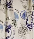 Home Essentials Lightweight Decor Fabric 45\u0022-Aweigh Indigo