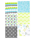 Flannel Fabric Pack 5\u0027\u0027x5\u0027\u0027-Giraffe Charms