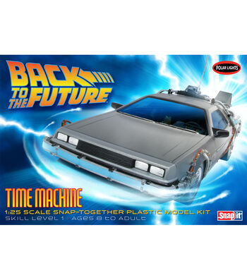 Polar Lights Back to the Future Time Machine 1:25 Scale Model Car Kit