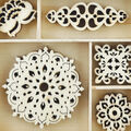 Themed Mini Wooden Flourishes-Bollywood