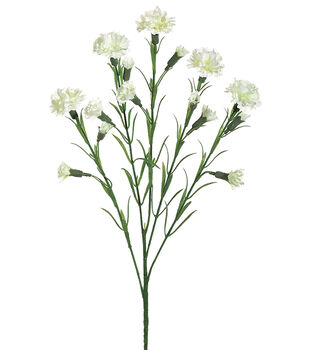 Bloom Room Carnation Spray-Cream/White