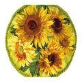 RIOLIS 17.75\u0027\u0027x17.75\u0027\u0027 Counted Cross Stitch Cushion Kit-Sunflowers