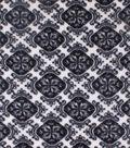 Anti-Pill Fleece Fabric -Black & White