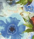 Upholstery Fabric 54\u0022-Petal Press Ocean