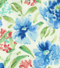 Waverly Upholstery Fabric 13x13\u0022 Swatch-Spring Forth Bluebell