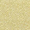 Batik Cotton Fabric-Metallic Swirls on Cream