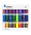 KINGART Variety Glitter Shaker Set 24/Pkg