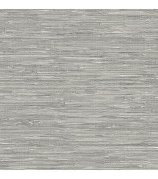 WallPops NuWallpaper Tibetan Grasscloth Peel and Stick Wallpaper