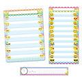 Smart Poly Emoji 3-Piece Pocket Chart Set
