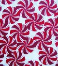 Holiday Cotton Fabric -Peppermints
