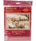 RIOLIS 17.75\u0027\u0027x11.75\u0027\u0027 Counted Cross Stitch Kit-Swans Prague