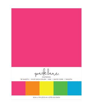 Park Lane 50 pk 8.5''x11'' Value Papers-Neon