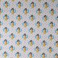 Wonder Woman Cotton Fabric-Stripes And Stars