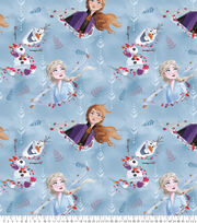 Disney Frozen Fleece Fabric-Spirits Of Nature, , hi-res