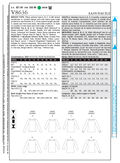Mccall Pattern V8636 16-18-20-2-Vogue Pattern