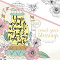 KaiserColour Coloring Book 9.75\u0022X9.75\u0022-Count Your Blessings
