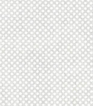 Keepsake Calico Cotton Fabric -Small Dots On White