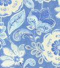 Home Decor 8\u0022x8\u0022 Swatch Fabric-IMAN Home Javanese Garden Porcelain