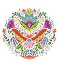 Cricut Large Floral Mandala Iron-On Design