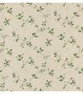 Eva Beige Floral Trail Wallpaper Sample