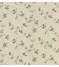 Eva Beige Floral Trail Wallpaper