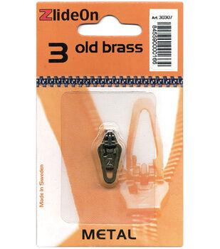 ZlideOn Zipper Pull Replacements Metal