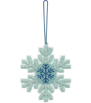 Stitch Kit Ornament-Snowflake