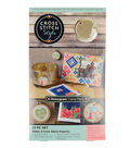 Cross Stitch Style Monogrammed Trend Pack