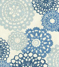 Waverly Upholstery Fabric 54\u0027\u0027-Midnight Rare Jewels