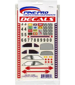 "Pine Car Derby Decal 5""X8.5""-Super Stock"