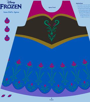 Disney Frozen Anna Cotton Girl's Apron Panel Fabric