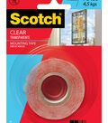 Scotch Mounting Tape 1\u0027\u0027x60\u0027\u0027-Clear