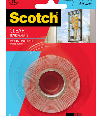 Scotch Mounting Tape-Clear