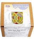 Pretty Twisted Color Your Mug DIY Kit-On The Edge