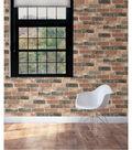 WallPops NuWallpaper Peel and Stick Wallpaper-Newport Reclaimed Brick