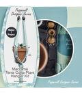 Pepperell Designer Macrame Plant Hanger Kit-Mint