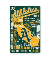 Oakland Athletics Wordage Sign, , hi-res