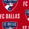 FC Dallas Fleece Fabric -Logo