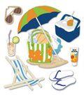 Jolee\u0027s Boutique Themed Ornate Stickers-Summer Gear