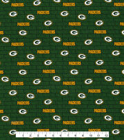 Green Bay Packers Cotton Fabric -Mini Print, , hi-res