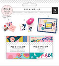 Pink Paislee Paige Evans Pick Me Up Mini Swatch Books-Pattern & Phrase