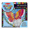 Melissa & Doug Stained Glass Made Easy Butterfly Kit