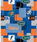 University of Florida Gators Cotton Fabric -Modern Block