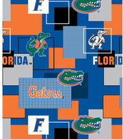 University of Florida Gators Cotton Fabric 43''-Modern Block, , hi-res