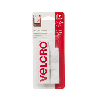 """VELCRO Brand Thin Clear 18""""x 3/4"""" Tape"""